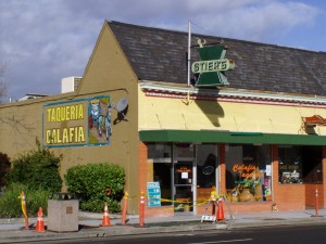 Calafia Taqueria, 1445 Webster St., Alameda, California Feb. 2005