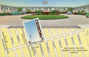 California Motel, 1461 University Ave., Berkeley, California