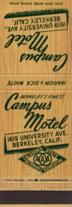 Campus Motel, 1619 University Ave., Berkeley, Calif.