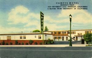 Campus Motel, 1619 University Ave., Berkeley, California