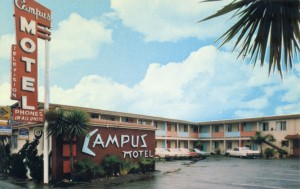 Campus Motel, 1619 University Ave., Berkeley, California