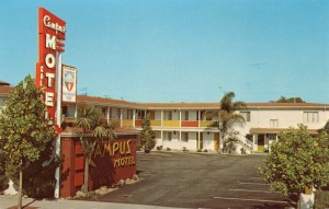 Campus Motel, 1619 University Avenue, Berkeley, California