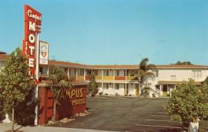 Campus Motel, 1619 University Avenue, Berkeley, California