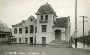 Carnege Library, Haywards, California