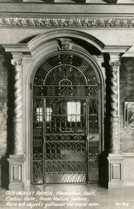 Cellini Gate, from Italian Palace, Old Hearst Ranch, Pleasanton, California