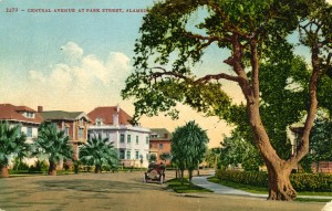 Central Ave., at Park Street, mailed 1912
