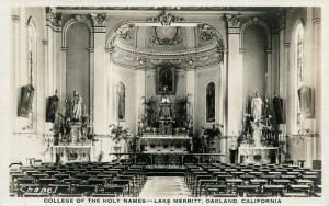 Chapel, College of the Holy Names, Lake Merritt, Oakland, California