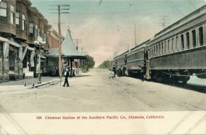 Chestnut Station of the Southern Pacific Co., Alameda, California