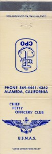 Chief Petty Officers' Club, U. S. N. A. S., Alameda, California