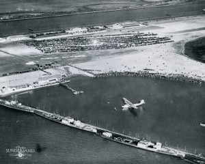 China Clipper, About to take off. Alameda, California, Nov. 22, 1935