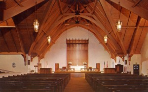 Chirst Church Parish, 1700 Santa Clara Ave., Alameda, California, mailed 1966