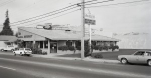 Chris' Marina Restaurant, 872 Marina Blvd., San Leandro, California, Aug., 1974