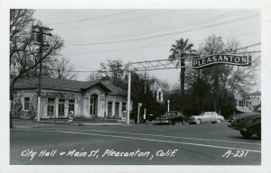 City Hall and Main St., Pleasanton, California