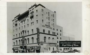 Moose City Club Hotel, Royal Order of Moose Lodge 324, Oakland, California