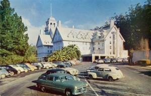 Claremont Hotel, Berkeley, California mailed 1957