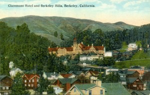 Claremont Hotel, Berkeley, California mailed 1924