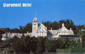 Claremont Hotel, Berkeley, California, mailed 1971