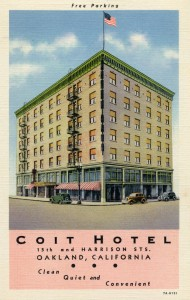 Coit Hotel, 15th and Harrison Sts., Oakland, Cal.