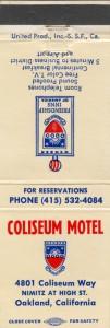 Coliseum Motel, 4801 Coliseum Way, Nimitz at High St., Oakland, California