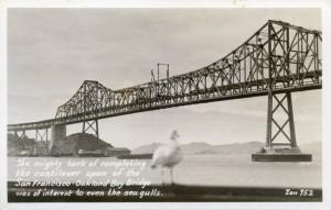 Completing the Cantilever, San Francisco - Oakland Bay Bridge