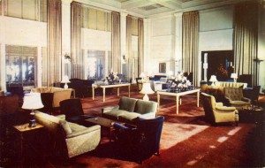 Coral Room, Hotel Claremont, high atop the Oakland - Berkeley Hills