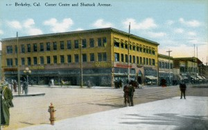 Corner Center and Shattuck Avenue, Berkeley, California