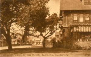 Corner Paru and Dayton Streets, Alameda, California