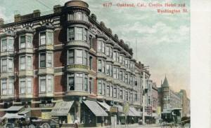 Crellin Hotel, Washington St., Oakland, Cal.