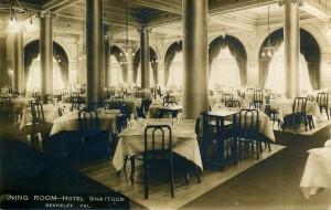 Dining Room, Hotel Shattuck, Berkeley, Cal.