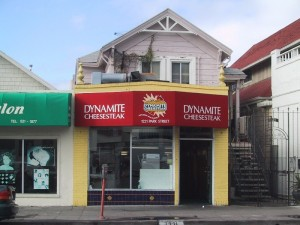 Dynamite Cheese-Steak, 1221 Park St., Alameda, California