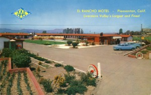 El Rancho Motel, Pleasanton, California