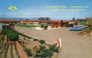 El Rancho Motel, Pleasanton, California