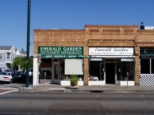 Emerald Garden Vietnamese Restaurant, 1518 Park St., Alameda, California  May 2003