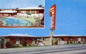Empire Apartment Motel, 9451 MacArthur Blvd., on U.S. Hwy. 50, Oakland, California