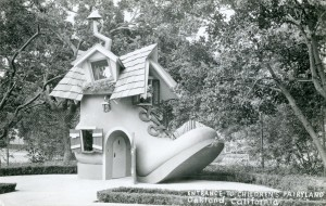 Entrance to Children's Fairy Land, Oakland, California RPPC