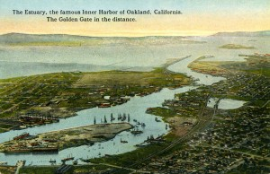 The Estuary, the famous Inner Harbor of Oakland, California