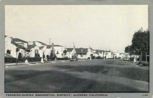 Fernside-Marina Residential District, Alameda, California