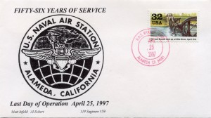 Fifty-Six Years of Service, U. S. Naval Air Station, Last Day of Operation, April 25, 1997