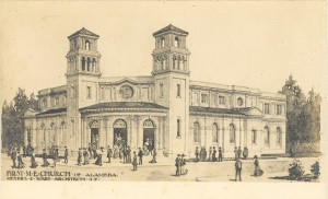 First M. E. Church of Alameda, California, Meyers and Ward Architects