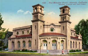 First Methodist Church, Central Ave. and Oak St., Alameda, California