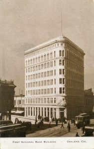 First National Bank Building, Oakland, Cal.