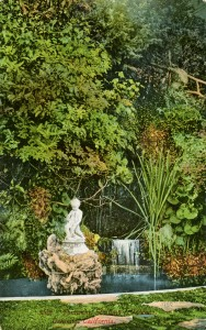 Fountain, Schilling's Gardens, Oakland, California