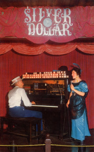 Frontier Village, Silver Dollar Saloon, with Rinky Tink piano, San Jose, California