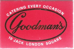 Goodmans, Jack London Square, Oakland, California
