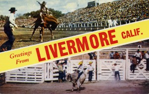 Greetings from Livermore, California, old postcard
