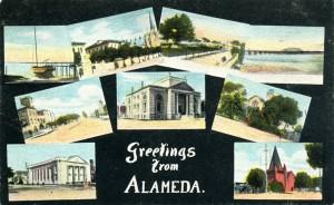 Freetings from Alameda, California