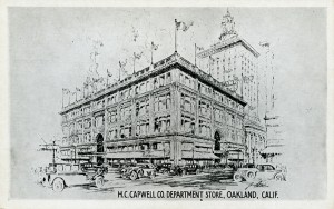 H. C. Capwell Co. Department Store, Oakland, California