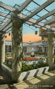 H. C. Capwell Co., Venetial Roof Garden, Oakland, California