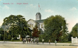 Haight School, Alameda, Cal., mailed 1911