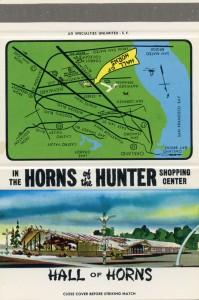 Hall of Horns in Horns of the Hunter, Hayward, California